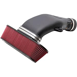 K&N Performance Air Intake Kit 63-3074 with Lifetime Red Oiled Filter for 2010-