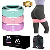 Exercise Booty Bands, Non Slip Resistance Bands for Legs and Butt Exercises Training Bands Fabric Workout Bands for Women [2019 Upgrade]