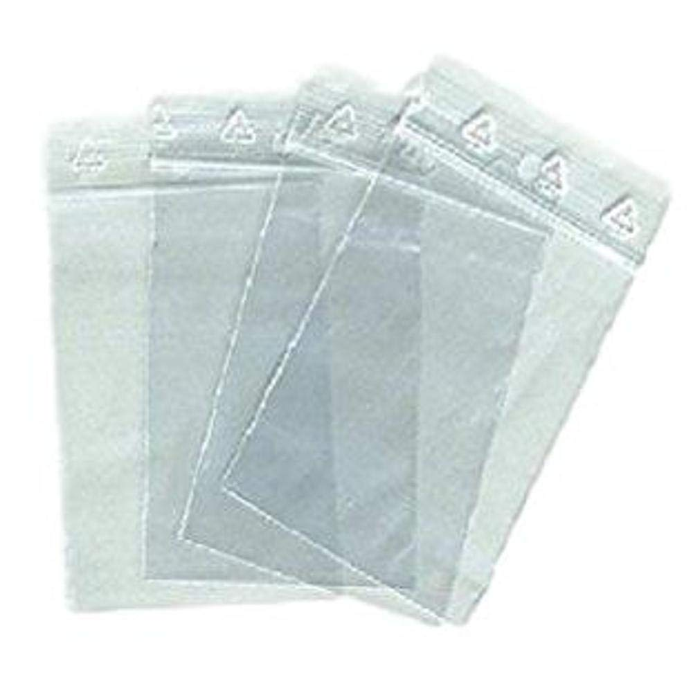 Plastiksä ckchen, Format 40 x 60 mm, mit Druckverschluss, 500 Stü ck Autre