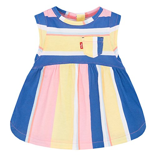 Levi's Baby Girls' Tunic Top, Multi Stripe, 18M by Levi's