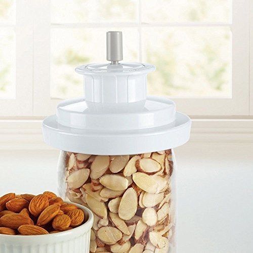 Jar Sealer, Fits On Wide-Mouth Mason Jars