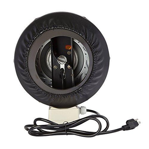 High Heat Inline Fan : Inch inline duct fan ventilation blower for hydroponics