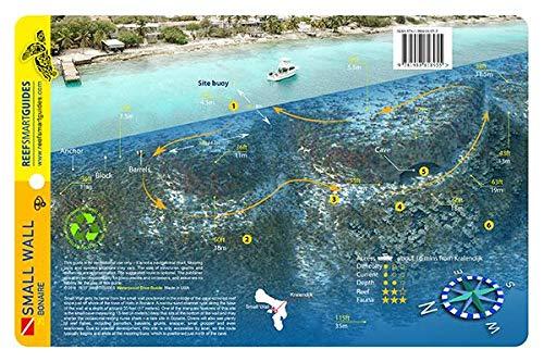 Small Wall Bonaire Waterproof Dive Card