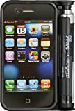 SABRE Red SmartGuard Pepper Spray Case for iPhone 4, Black