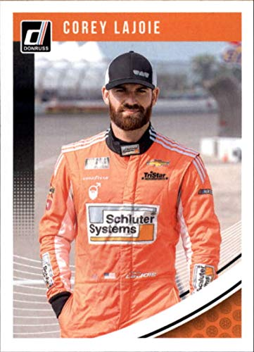 (2019 Donruss #27 Corey LaJoie Schluter Systems/TriStar Motorsports/Chevrolet Racing Trading Card)