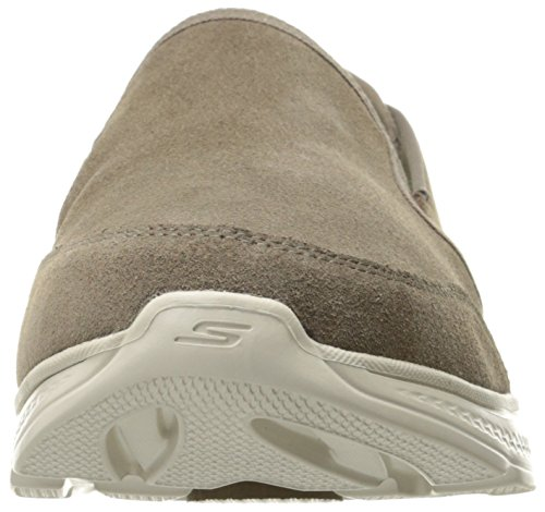 Skechers Mens Go Walk 4 Deliver Walking Shoe Taupe