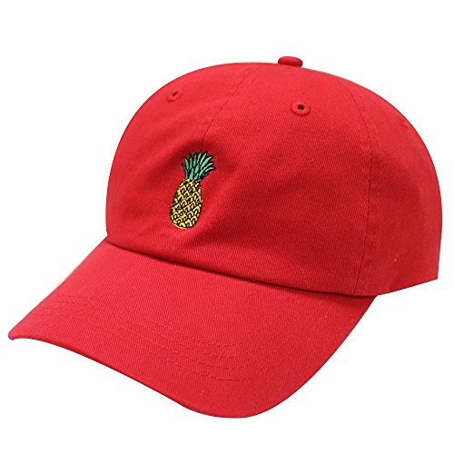 City Hunter C104 Pineapple Cotton Baseball Cap Multi Colors