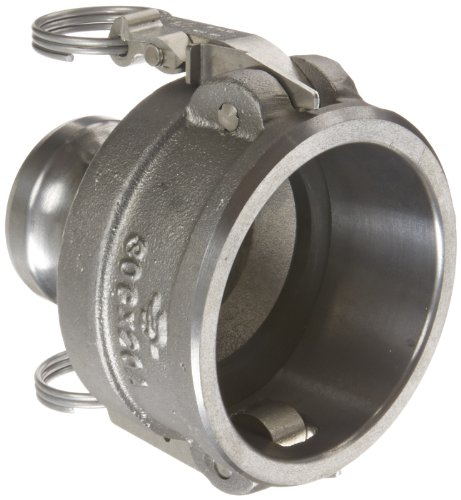 PT Coupling CXA Short STA-Lok 2 Series Ductile Iron Cam and Groove Hose Fitting, Reducer, 4