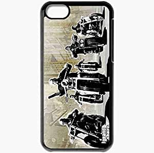 Personalized iPhone 5C Cell phone Case/Cover Skin Gta 4 Lost And Damned Grand Theft Auto 4 Lost And Damned Bikers Gang Motorcycles Black