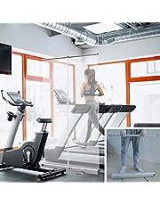 Floor Standing Sneeze Guard,Mobile Popup Roller Banner,Hygiene Partition Screen,Shield Barrier Divider, Pub Gym Schools Office