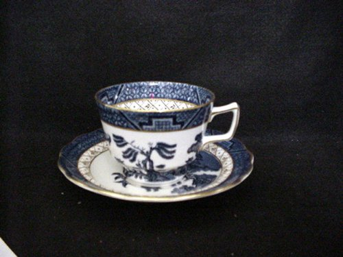 Real Old Willow - ROYAL DOULTON CUP/SAUCER REAL OLD WILLOW (TC1126) DESIGN IN
