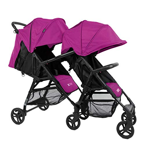The Tandem+ (ZOE XL1) – Best Lightweight Travel and Everyday Tandem Stroller System with Umbrella