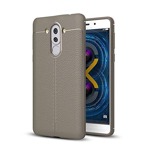 Ok Accessories Huawei Mate 9 Funda,Cuero de Textura TPU Caso Carcasas de a Prueba de Golpes para Huawei Mate 9 Estuches...