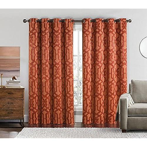 Set Of 2 Panels 104Wx84L Royal Tradition