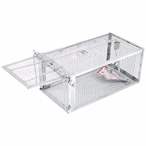 AB Traps Live Animal Humane Trap - Catch & Release Rats Mouse Mice Rodents and Similar-Sized Pests - Safe and Effective