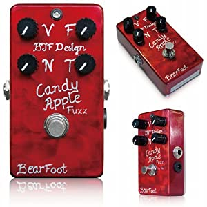 BearFoot Candy Apple Fuzz Silver