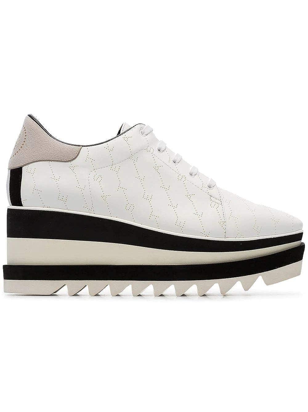 - Stella McCartney Women's 558868W088L9087 White Polyurethane Sneakers
