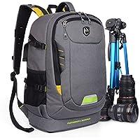 Abonnyc Dslr SLR Camera Backpack Rucksack Bag Case...
