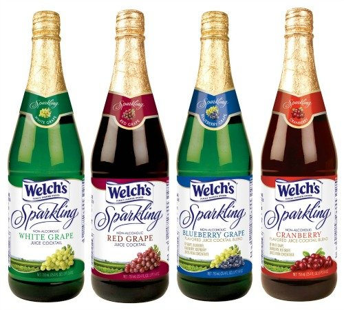 Welch S Sparkling Grape Juice Cocktail Non Alcoholic 25