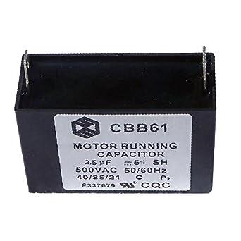 Compartir condensador CBB61 2.5uf 450 V Escape Ventilador ...