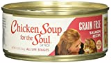 Chicken Soup For The Soul Grain-Free Salmon Recipe Cat Food 5.5 Ounce Cans, Case Of 24