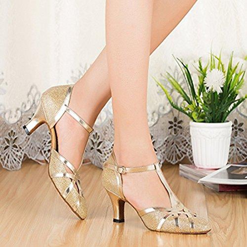 35 6cm Joymod Heel e Moderno Jazz Gold Donna Oro MGM zqwada