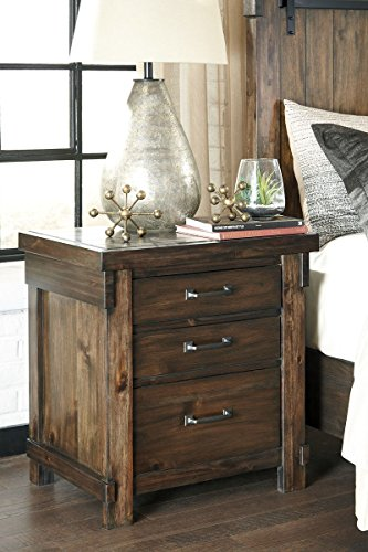 Signature Design by Ashley Lakeleigh Night Stands, Brown