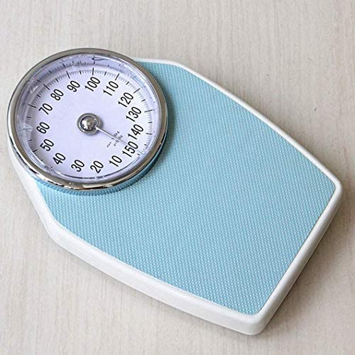 ZJZ Professional Mechanical Scale, Non-Digital Bathroom Dial,Health Measurement,150kg(330Lbs),for Family gym