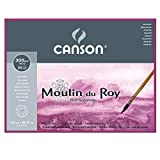 Canson C400014796 Moulin du Roy MOULINDUROY 140 HP 9X12 BLOCK