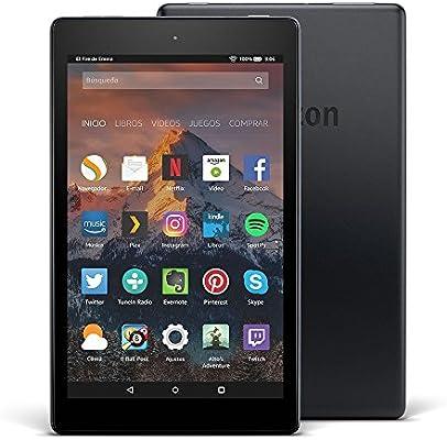 Tablet Fire HD 8 - Hasta 12 horas de batería. - Amazon.es