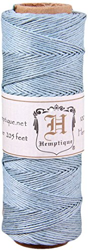Hemptique 5070816 Hemp Cord Spool, 10 lb., Light Blue
