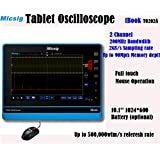 Micsig 200MHz tablet oscilloscope 2CH TO202A with battery