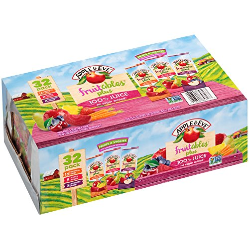 Apple & Eve Fruitables Plus Variety Pack, 32 Count