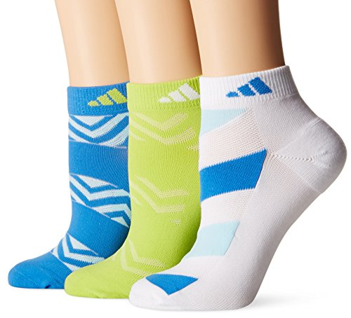 adidas Womens Cushioned Low Cut Socks (3-Pack)