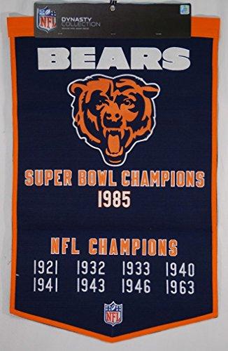 (Winning Streak NFL Chicago Bears Dynasty Banner)