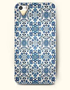 SevenArc Phone Cover Apple iPhone case for iPhone 4 4s -- Blue Floral Pattern