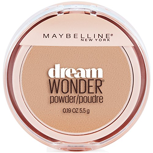 Maybelline New York Dream Wonder Powder Makeup, Buff Beige, 0.19 oz.
