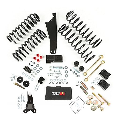 Rugged Ridge 2.5 - 3.5 JK Jeep Wrangler Suspension Lift Kit