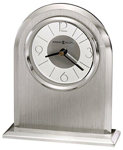 Howard Miller 645766 645-766 Argento Table Clock (Howard Miller Glass Table)