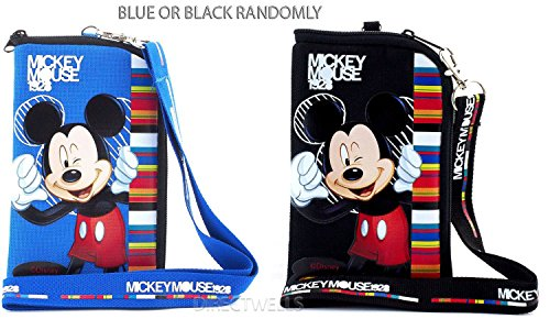 (Disney Mickey Mouse Pouch and Lanyard (Random 1pcs))