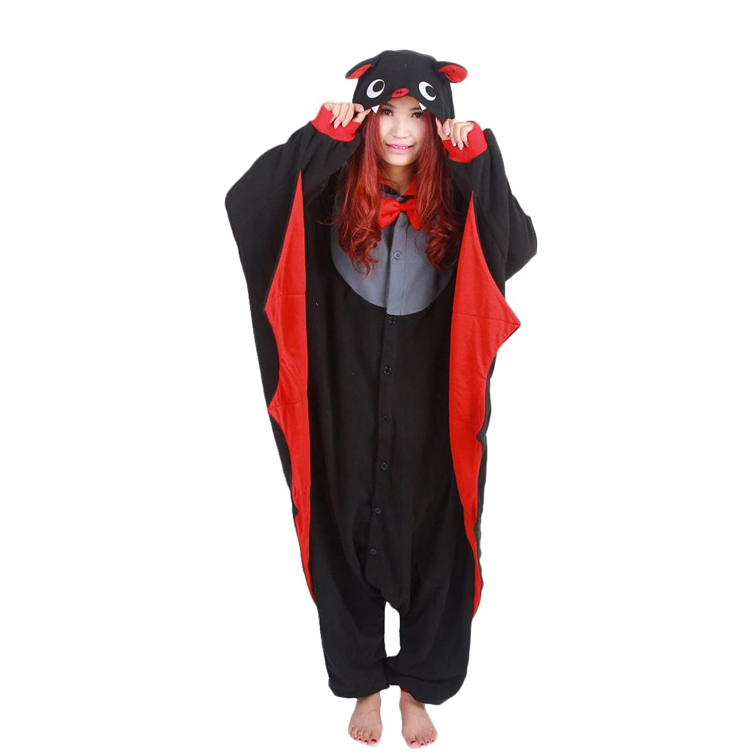 Amazon.com: dgheere Costume Onesie Sleepwear Pajamas Cosplay Hoodie for Halloween: Clothing