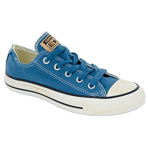 Converse Womens Chuck Taylor All Star Femme Sequin Shine Ox Trainers (Aero Blue) HVN09W
