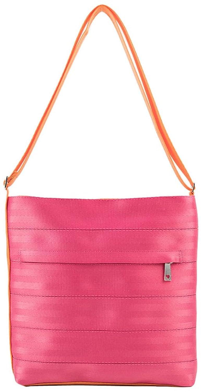 Harveys Seatbelt Bags Sweet Pea Streamline Crossbody, Pink