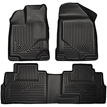 Weathertech 446131-441793 1st & 2nd Row Black Floor Liner for 2009 - 2014 Ford F150