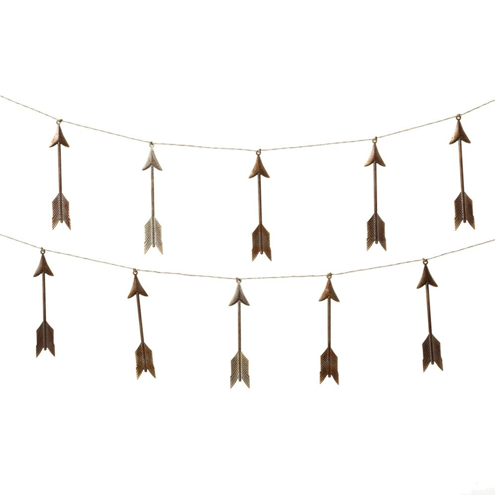 Midwest CBK Metal Arrow Garland 72 Inch