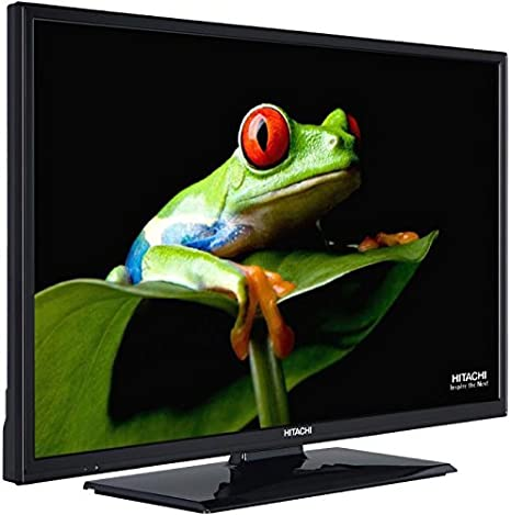 Hitachi Televisor LCD, LED y Plasma 40 F501hb01t62 – Televisor LED HD 40 (101 cm) 16/9 – 1920 x 1080 pixels – Tnt y cable HD – HDTV – Wi-Fi – DLNA – 100 Hz: Amazon.es: Informática