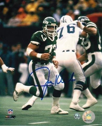 Signed Joe Klecko Picture - 8x10 - Autographed NFL Photos Athletic Promotional Events