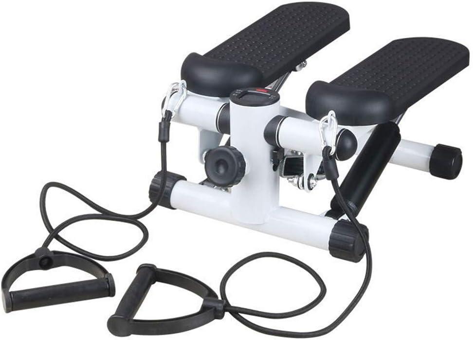 Belingeya-sp Máquinas de Step para Fitness Inicio Arriba y Abajo Mini Paso a Paso, entrenadora Familiar, Paso a Paso y SOGA de Entrenamiento para Principiantes y usuarios avanzados