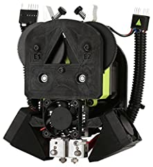 Take your designs to the next level with the all-new LulzBot TAZ Dual Extruder v3 Tool Head. This tool head was engineered to utilize dedicated support material, including soluble filament, like PVA, that dissolves and separates in water, fre...