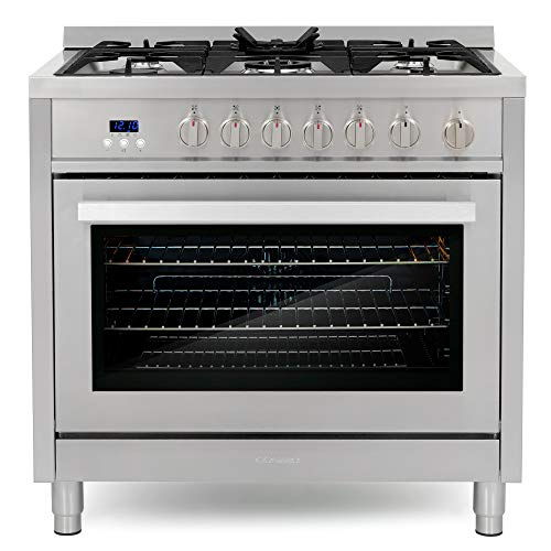 Cosmo COS-965AGFC 36 in. 3.8 cu. ft. Single Oven Gas